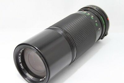 Canon New FD Zoom 100-200mm 1:5.6 Lens *As Is* #X023a