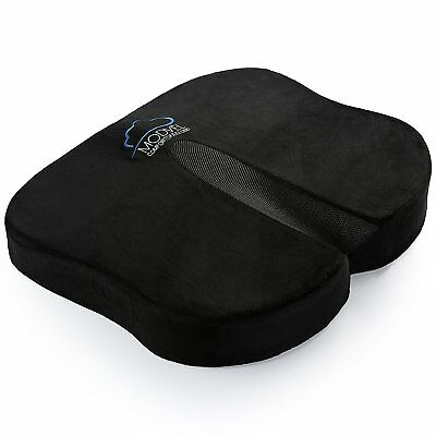 Modvel Seat Cushion For Back Pain, Tailbone, Coccyx & Sciatica Relief - Memory &
