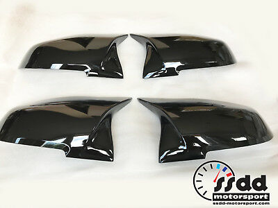 BMW M4 M3 Style Replacement Mirror Covers Painted in UK Any Colour F20 F30 F32