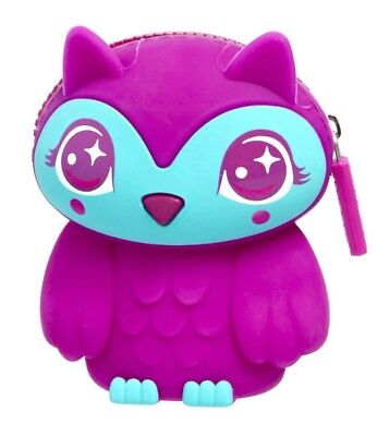 NEW! COLLECTABLE 💕🐨SMIGGLE Scented Silicone Coin Purse Wallet Kids Girls, Owl