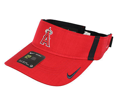 competitive price 2d34f 80570 ... shopping nike anaheim angels aerobill vapor visor one size red hat cap  mlb los angeles c4373