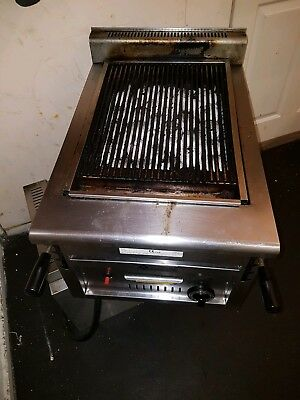 used commercial charcoal grill