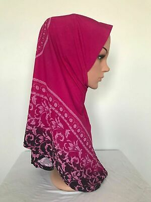Fashion New Style 1 piece Al Amira Muslim women One size Polyester Hijab .