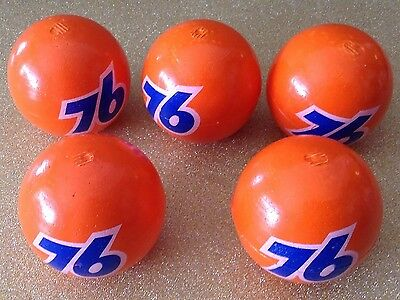 Vintage 76 Antenna Balls (lot of 5) NOS
