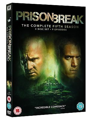 Prison Break The Complete Fifth 5th Season Brand New & Sealed *Fast Delivery
