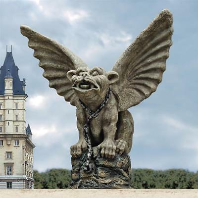 Design Toscano Chained Cathedral Gargoyle Statue
