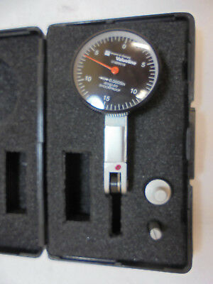 BROWN & SHARPE 01889018 Dial Test Indicator, Swl Hd, 0 to 0.030 In