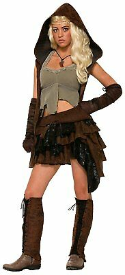 Adult Womens Rogue Warrior Medieval Female Costume