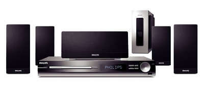 Philips Home Theater DVD hts3154 Sistema Home Theater 5.1 300W