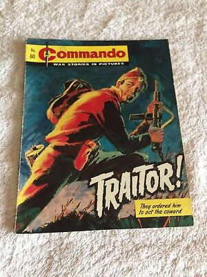 Very Early Commando Comic Number 80