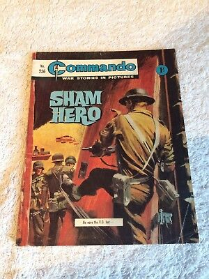 Very Early Commando Comic Number 256