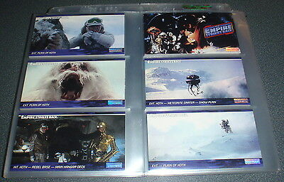 STAR WARS : Widevision - Empire Strikes Back : 144 Card Base Set : 1995 TOPPS