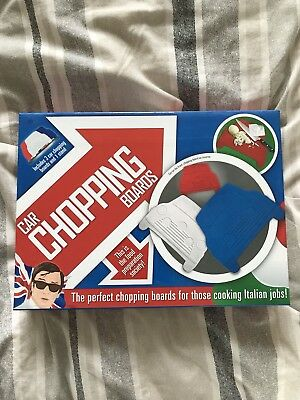 Mini Cooper Novelty Chopping Board Set Italian Job Style