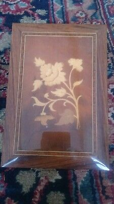 antique edwardian wood inlaid marquetry panel furniture restoration wall hanging