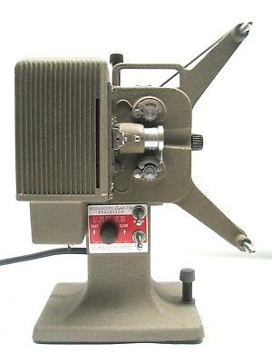 Vintage 1939  Kodascope Eight Model 71A 8mm Film Projector With Reel - Tested!