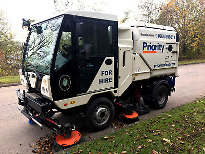 Scarab Minor Compact Road Sweeper Self Drive Hire Rental Nationwide Coverage