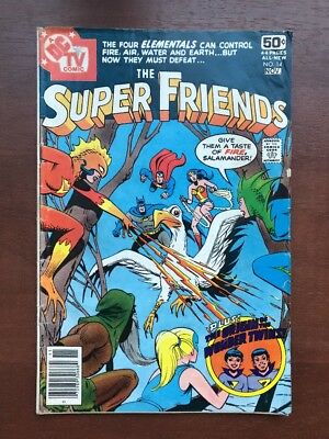 The Super Friends #14 (1978) 6.0 FN Origin Of The Wonder Twins DC Key Issue