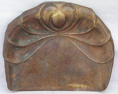 Antique Art Nouveau Brass Crumb Tray/Pan - Made In England By Beldray
