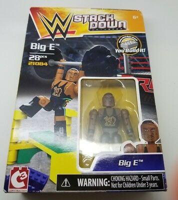 WWE Stack Down Big E 21084 NEW SEALED C3 Stackdown New Day