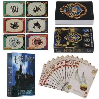 1pc Harry Potter Hogwarts Playing Cards Collection Poker Cards Funny Gift Toy