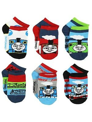 Thomas the Train Boys 6 pack Socks (Toddler) TE015BQS