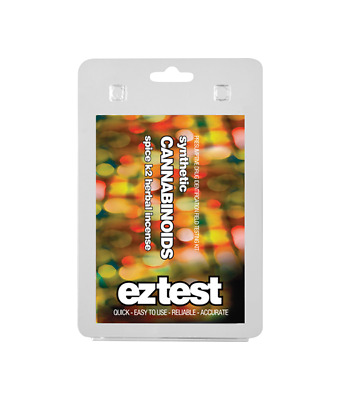 EZ Test Blister for Synthetic Cannabinoids: Spice, K2 and Herbal Incense (1 test