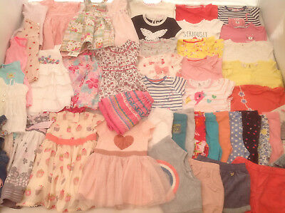 Huge Baby Girls Summer Clothes Bundle 6-9 months LOTS OF PICTURES