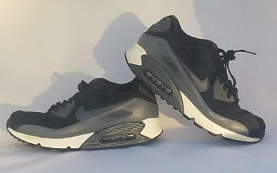 baf01a40d1 Nike Women's Sz 10 NIKE AIR MAX 90 LTHR 768887-001 Shoes Sneakers Trainers