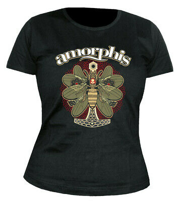 AMORPHIS - Queen of Time - Moth - GIRLIE - Shirt