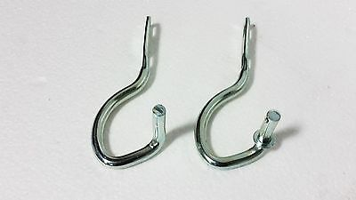 Hood Hinges Left And Right Set Ford Tractor C5Nn16N631B + D4Nn16N631A