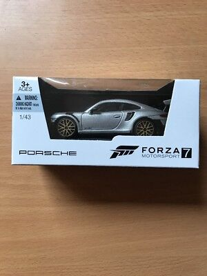 Forza Motorsport 7 Porsche 911 GT2 RS 1/43 scale - Model Car NEW In hand