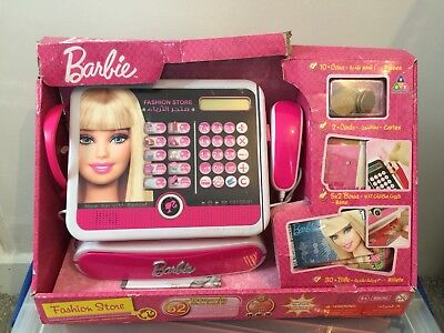 Barbie Fashion Shop Store Till Cash Register Arabic French English