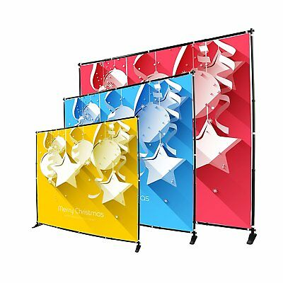 Sign Talk Telescopic Banner Stand Step and Repeat (10x8ft)
