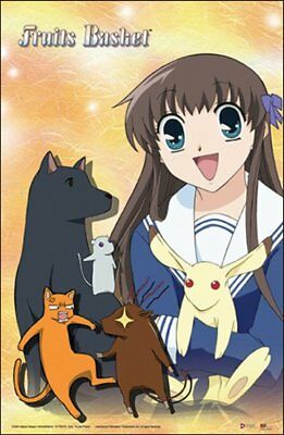 Fruits Basket Tohru Animals Anime Poster GE-5139