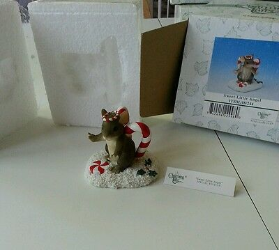 Retired Charming Tails sweet little angel 98/244 Christmas special edition