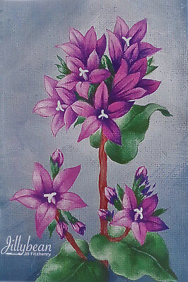 "Jillybean Fitzhenry lovely tole painting pattern ""Put the Petal with the Metal"""