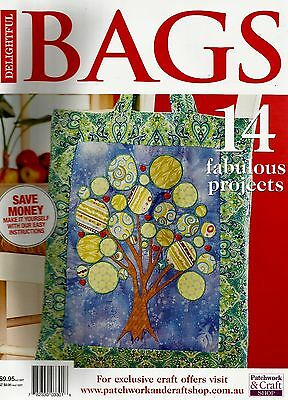 Delightful  Bags Magazine 2015   Pattern Sheet Attached