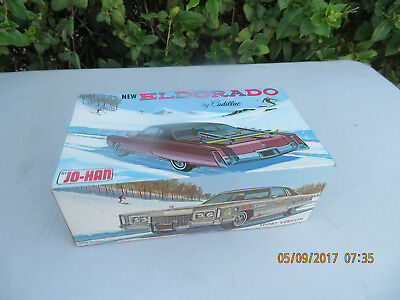 1972 Cadillac Eldorado Model Car Kit by Johan