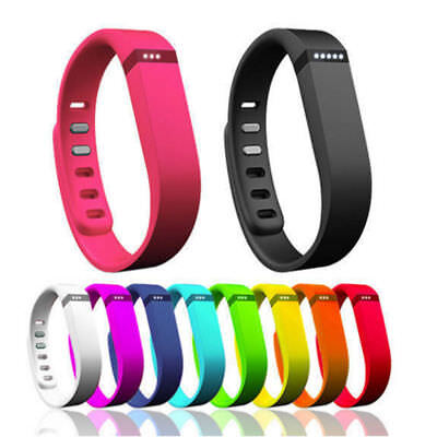For Fitbit Flex Small/Large Band Replacement Wrist Bands Wristband With Clasps █