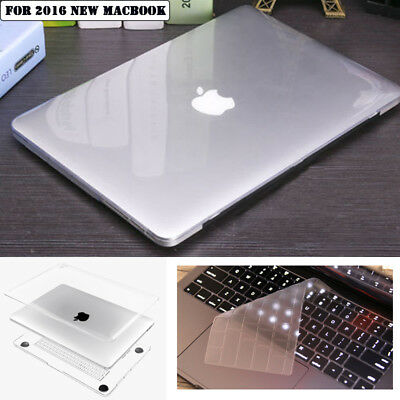 "Crystal Clear Case+Keyboard Cover for 2016 Apple Macbook Pro 13"" 15"" A1706/A1708"
