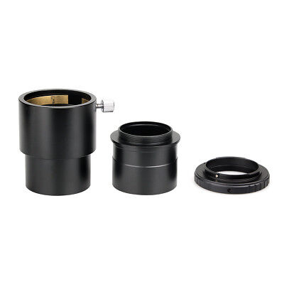 """2""""Telescope Extension Tube+Nikon T-Ring Mount Adapter+ 2""""to T Adapter Astro US"""