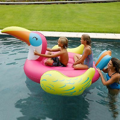 Sun Pleasure Giant Inflatable Pool Floats 2 Person Brand New In Sealed Box