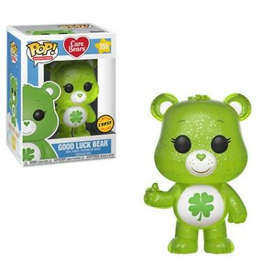 Limited Chase Edition Funko Pop! Animation 355 Care Bears Good Luck Bear Pop