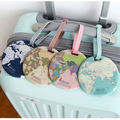 Pop Luggage Tag Suitcase Name and Address Label ID Tag Novelty Travel Bagtag