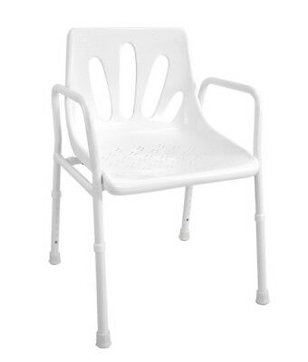 Collapsible Portable Folding Shower Chair – Aluminium *Brand New*