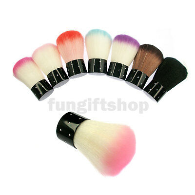 Nail Art Dust Powder Cleaner Remover Brush Tool For Beauty Acrylic & UV Gel LOT