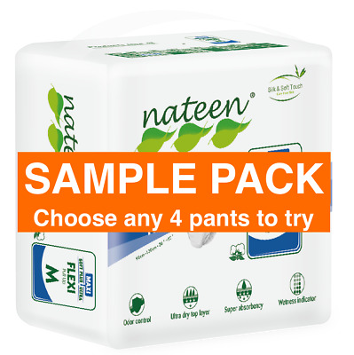 Incontinence Pull Up Pants. Disposable. SAMPLE PACK