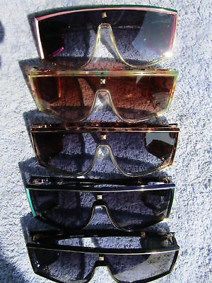 "VINTAGE SUN GLASSES ""LEONARD"" PARIS x 1 PAIR,CHOICE OF 5 GENUINE NEW NEVER WORN."