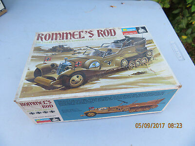 Monogram 1/24 Rommel's Rod Desert Fox Crazy Command Car