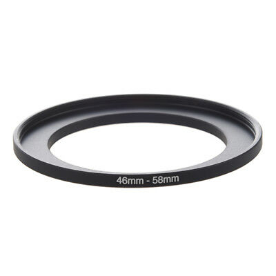 Camera Repairing 46mm to 58mm Metal Step Up Filter Ring Adapter Q7S5